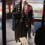 The coat Nelson wore at The Nile. He was a LITTLE guy...