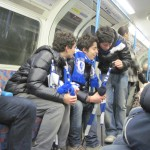 "These ""Chelsea fans"" affected to be interested in something else as they followed us to that part of town."