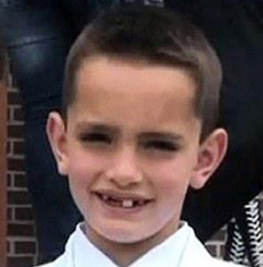 Victim Martin Richard, 8.
