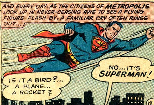 Truth, Justice, and the American Way. Superman, properly understood.