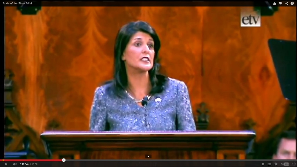 Haley speech