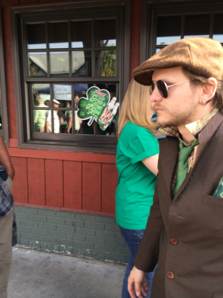 "Best costume. This guy was all like ""I'm going to be a James Joyce character today."""
