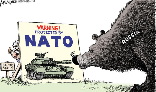 Image result for NATO CARTOON