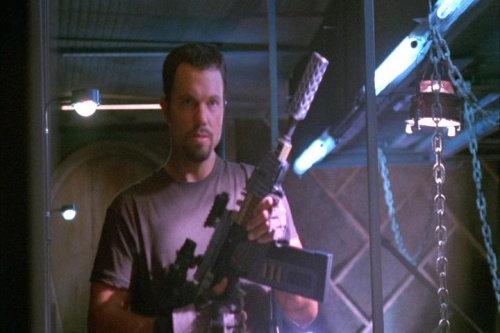 """Jayne with Vera: """"It is my very favorite gun."""""""