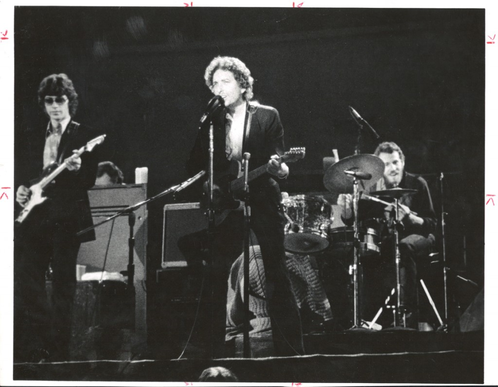 Dylan and The Band 1974
