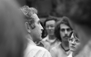 At least this shot of Ellsberg was in focus.