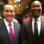 SC GOP Chairman Matt Moore and Democratic Chair Jaime Harrison, in complete agreement.