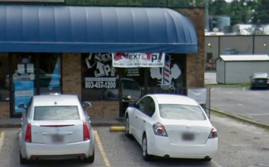 The barber shop where the shooting took place. Image from Google Maps.